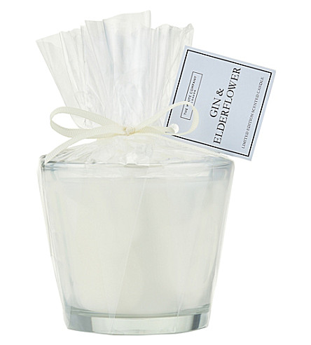 THE WHITE COMPANY Gin & Elderflower Candle (No+colour