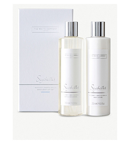 THE WHITE COMPANY Seychelles bath & body set