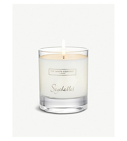 THE WHITE COMPANY Seychelles candle
