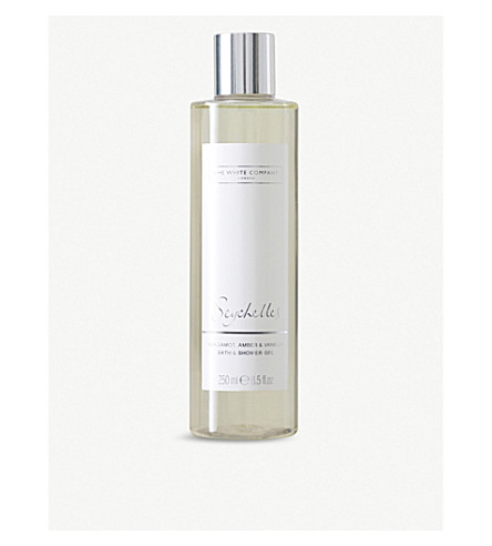 THE WHITE COMPANY Seychelles bath & shower gel