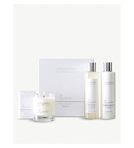 THE WHITE COMPANY Seychelles luxury set