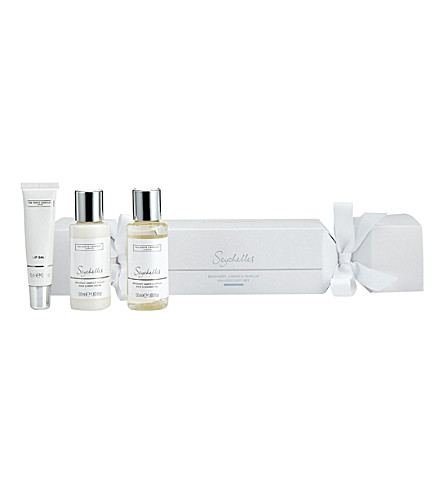 THE WHITE COMPANY Seychelles Christmas cracker gift set (No+colour