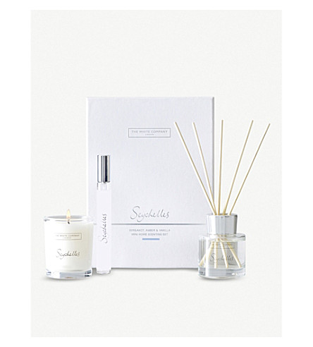 THE WHITE COMPANY Seychelles home scenting set (No+colour