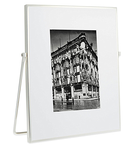 THE WHITE COMPANY - Fine silver easel frame 5x7\