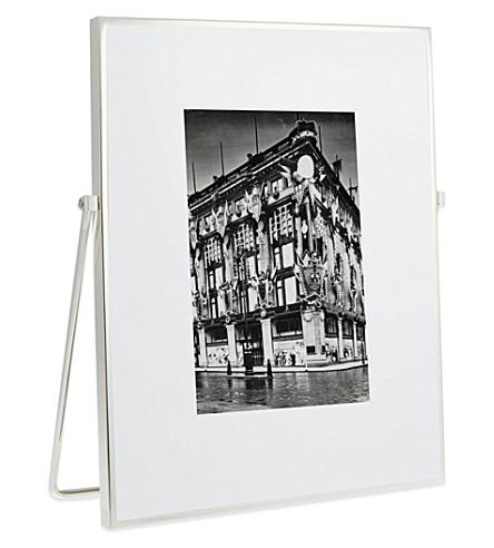 THE WHITE COMPANY 精美银色画架架5x7
