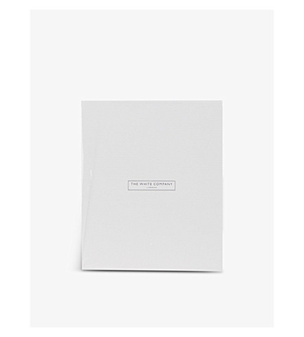 THE WHITE COMPANY Fine silver photo frame 5x7'' (Silver