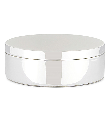 THE WHITE COMPANY Keepsake box (Silver