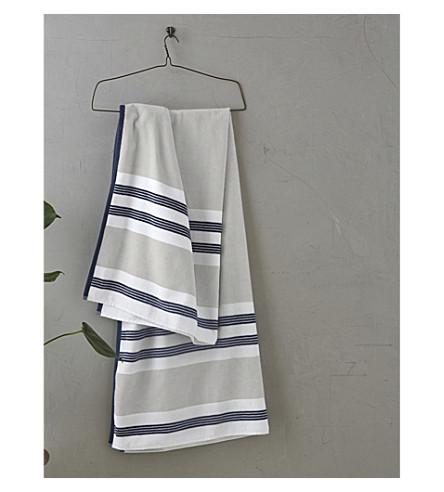 Sorrento de toalla 180x100cm algodón rayas de playa a COMPAÑÍA BLANCA Multi LA qtFwEYF
