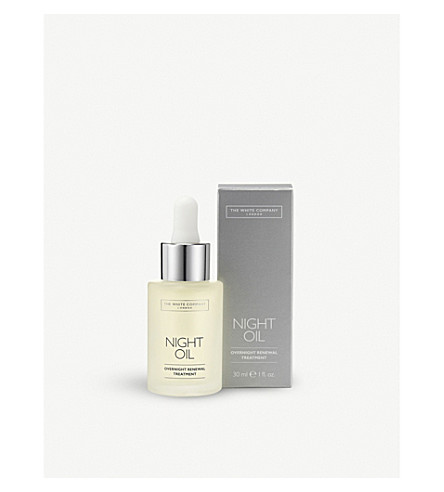 THE WHITE COMPANY Night Oil Overnight Renewal Treatment 30ml (No+colour