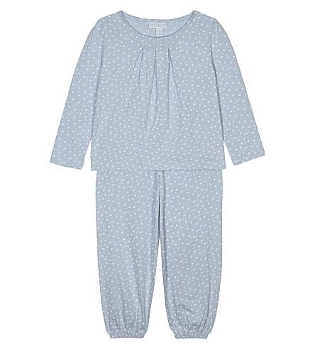 THE LITTLE WHITE COMPANY Sholah cotton pyjamas 1- 6 years (White