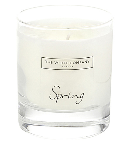 THE WHITE COMPANY Spring candle 140g