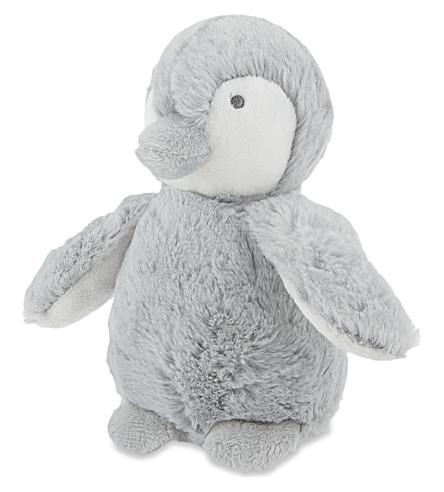 THE LITTLE WHITE COMPANY Snowy penguin small (Silver