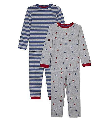 THE LITTLE WHITE COMPANY Two piece pyjamas set 1-6 years (Multi