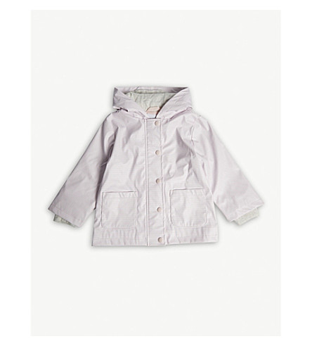 THE LITTLE WHITE COMPANY Rainy Play Coat 2-6 years (Pink
