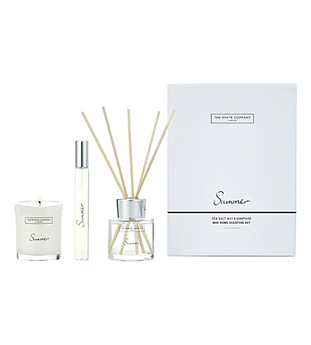 THE WHITE COMPANY Summer Mini Home Scenting Set (No+colour