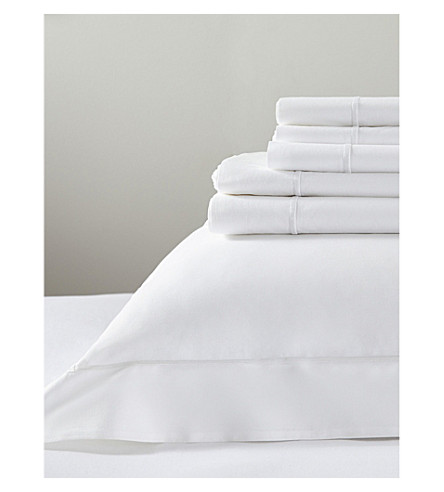 THE WHITE COMPANY Savoy duvet cover (White