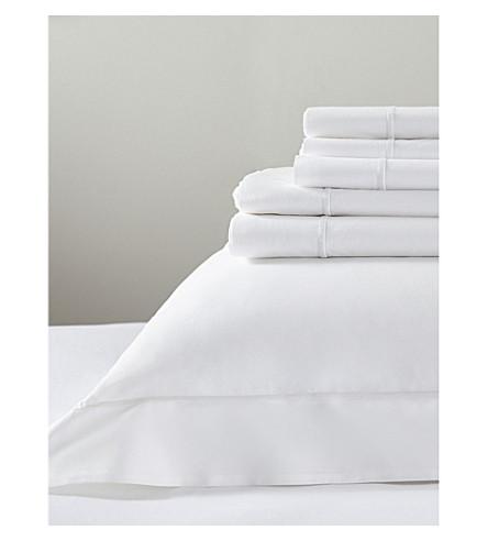 THE WHITE COMPANY Savoy duvet cover (White