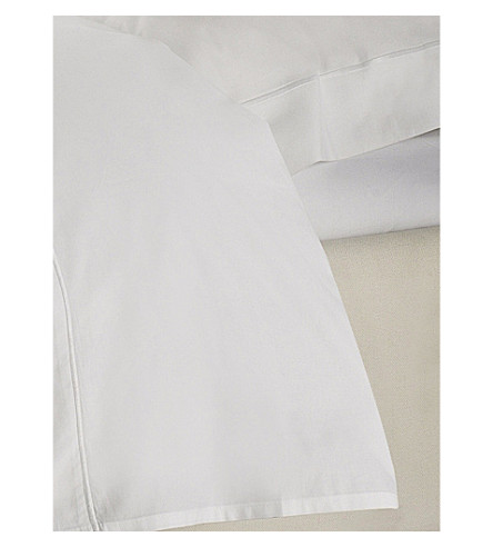THE WHITE COMPANY Savoy fitted sheet (White
