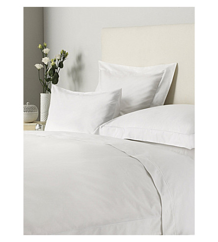 THE WHITE COMPANY Savoy Oxford pillowcase (White