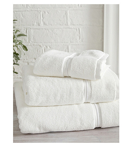 THE WHITE COMPANY Savoy Egyptian-cotton bath sheet (White