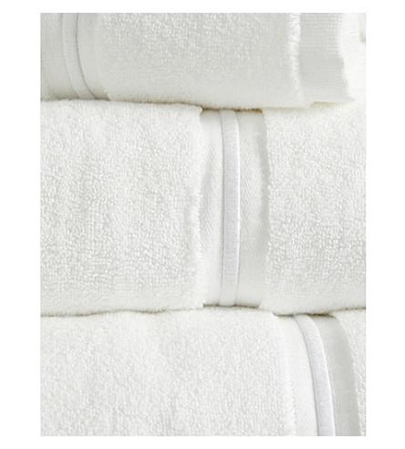 THE WHITE COMPANY Savoy Egyptian-cotton bath towel (White