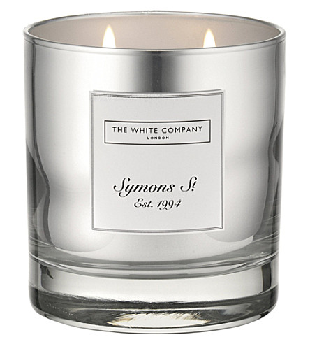 THE WHITE COMPANY Symons candle 230g (No+colour