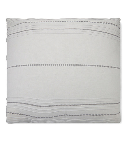 THE WHITE COMPANY Thurloe cotton-linen cushion cover (Cloud