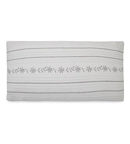 THE WHITE COMPANY Thurloe cotton-linen cushion cover (Cloud