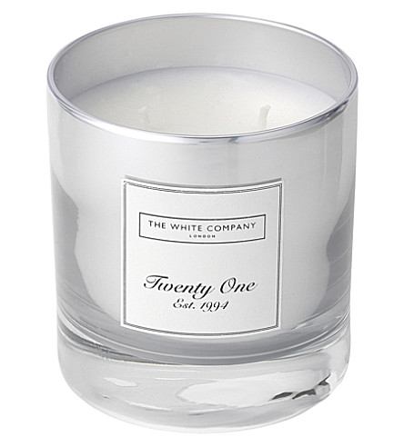 THE WHITE COMPANY Twenty one two-wick candle 280g (No+colour