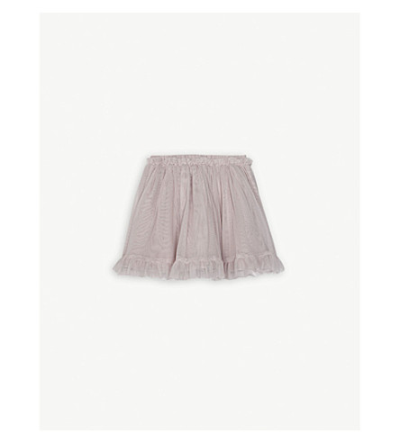 THE LITTLE WHITE COMPANY Tutu skirt 0-24 months (Dusty+rose