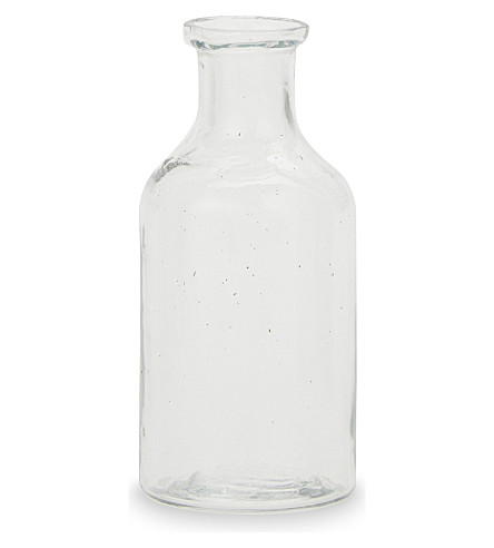 THE WHITE COMPANY Mini bud vase 10cm (Clear