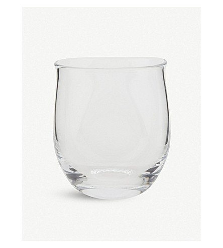 THE WHITE COMPANY Small Boston vase (Clear
