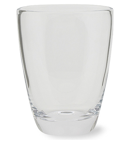 THE WHITE COMPANY Luddington small glass vase (Clear