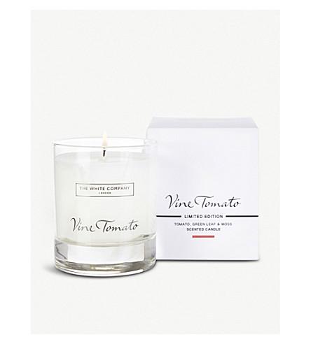 THE WHITE COMPANY Vine tomato signature candle 140g (No+colour