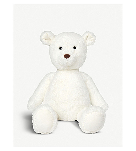 THE LITTLE WHITE COMPANY Teddy bear toy (White