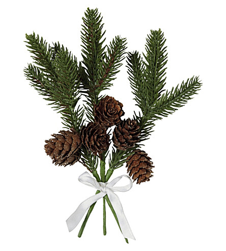 THE WHITE COMPANY Fir Cone Gift Ties Set Of 3 (Natural