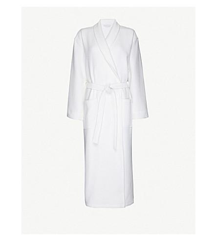 THE WHITE COMPANY Cotton dressing gown xs-xl (White