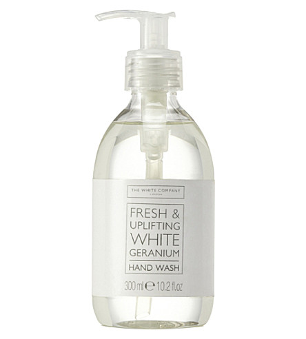 THE WHITE COMPANY White Geranium hand wash (No+colour