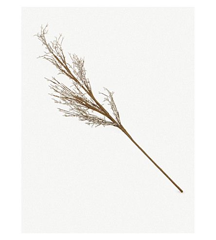 THE WHITE COMPANY Sparkle Berry Branch decoration (Natural
