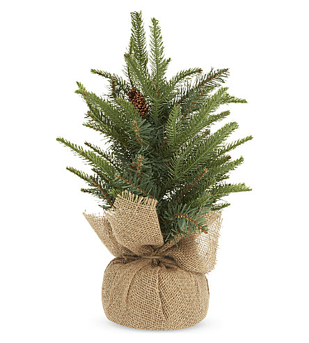 THE WHITE COMPANY Mini fir christmas tree 1ft (Green