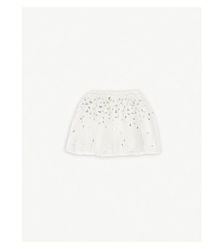 THE LITTLE WHITE COMPANY Sequin tutu skirt 1-6 years (White