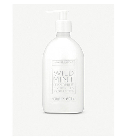 THE WHITE COMPANY Wild mint hand lotion 500ml (No+colour