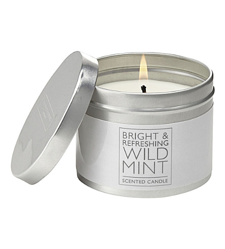 THE WHITE COMPANY Wild Mint scented candle (No+colour