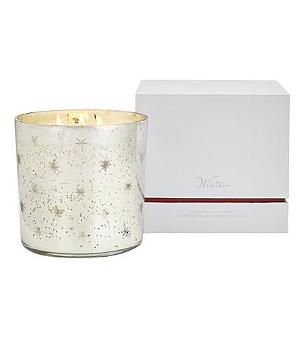 THE WHITE COMPANY Winter mercury candle 850g (No+colour