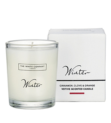 THE WHITE COMPANY Winter votive candle (No+colour