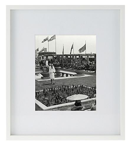 THE WHITE COMPANY Fine wooden frame 8x10 (White