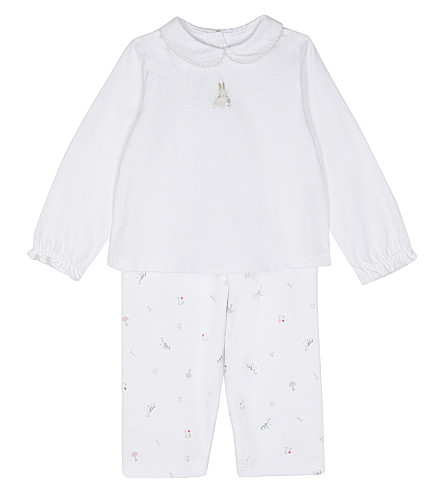 THE LITTLE WHITE COMPANY Woodland pyjamas set 0-18 months (Multi