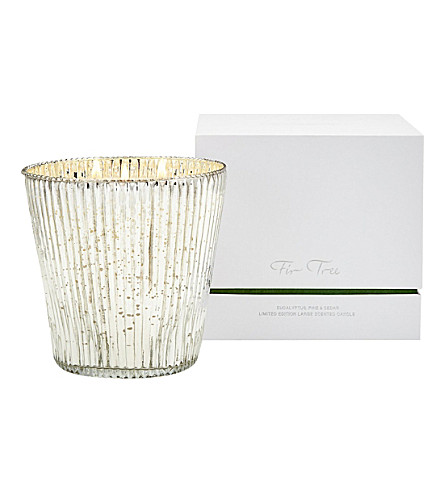 THE WHITE COMPANY Fir Tree Large Candle (No+colour