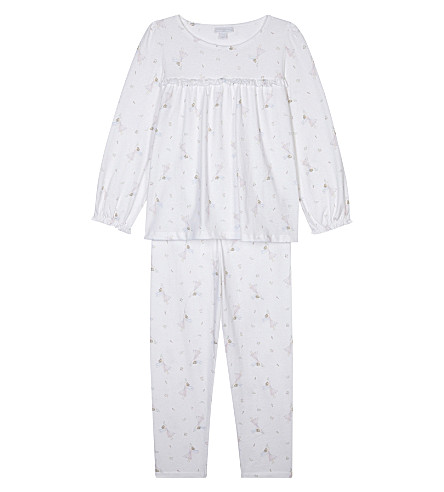 THE LITTLE WHITE COMPANY Winter fairy pyjamas 7-12 years (White