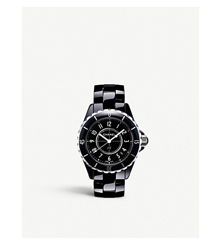 CHANEL H0682 J12 33mm high-tech ceramic and steel watch